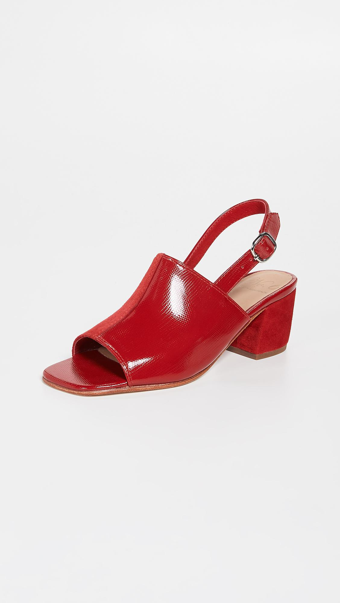 ec4fb24c5a63 No. 6 Leah Sandals in Red - Lyst