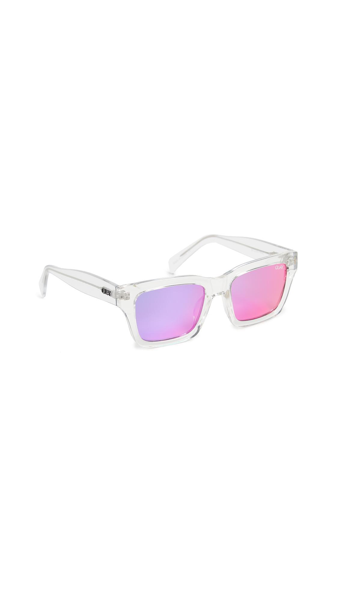 a4113d0cc25cf Quay - Multicolor In Control Sunglasses - Lyst. View fullscreen