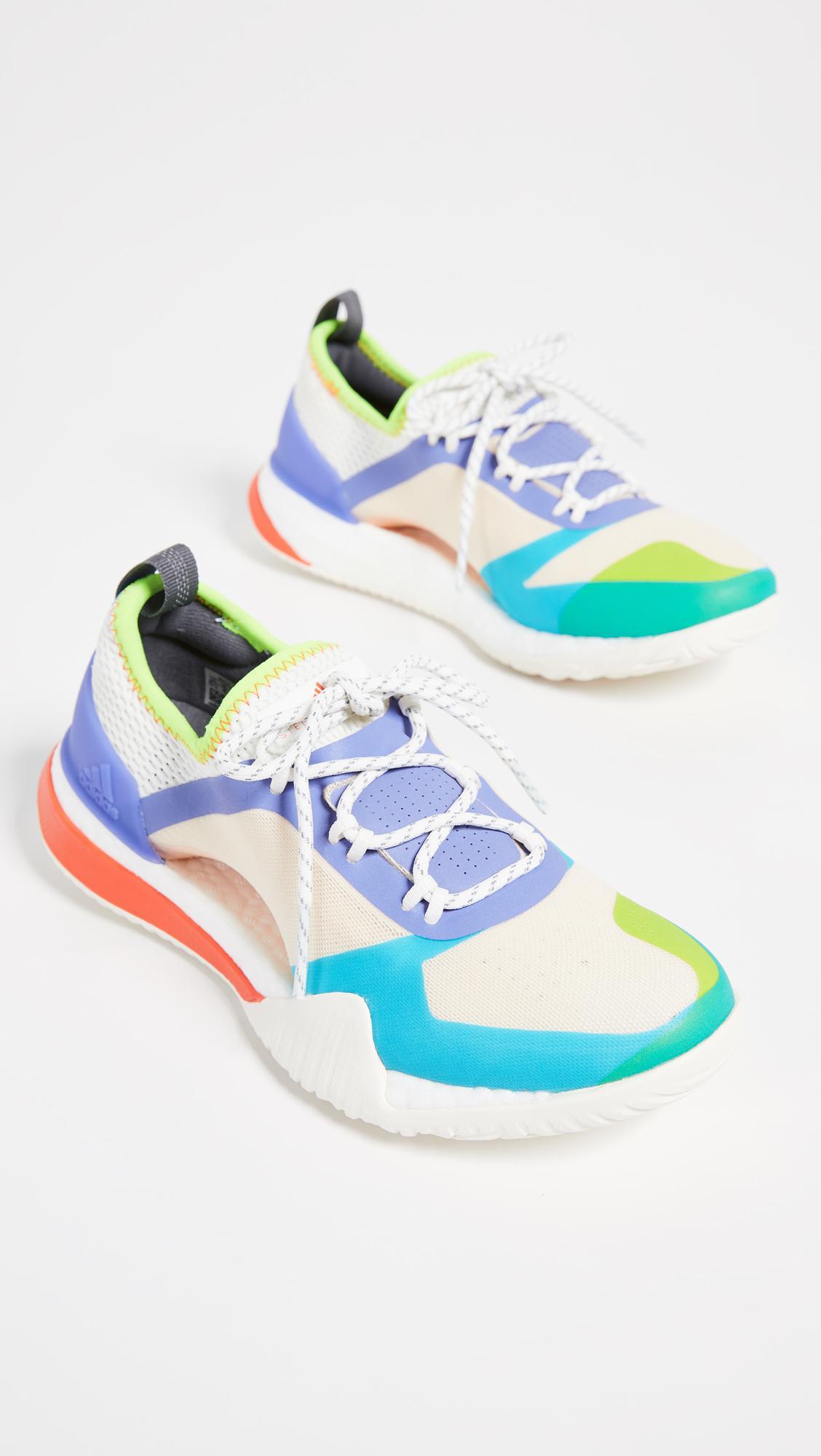 adidas By Stella McCartney Pureboost X Tr 3.0 Sneakers in Blue - Lyst 8ec99e1a2