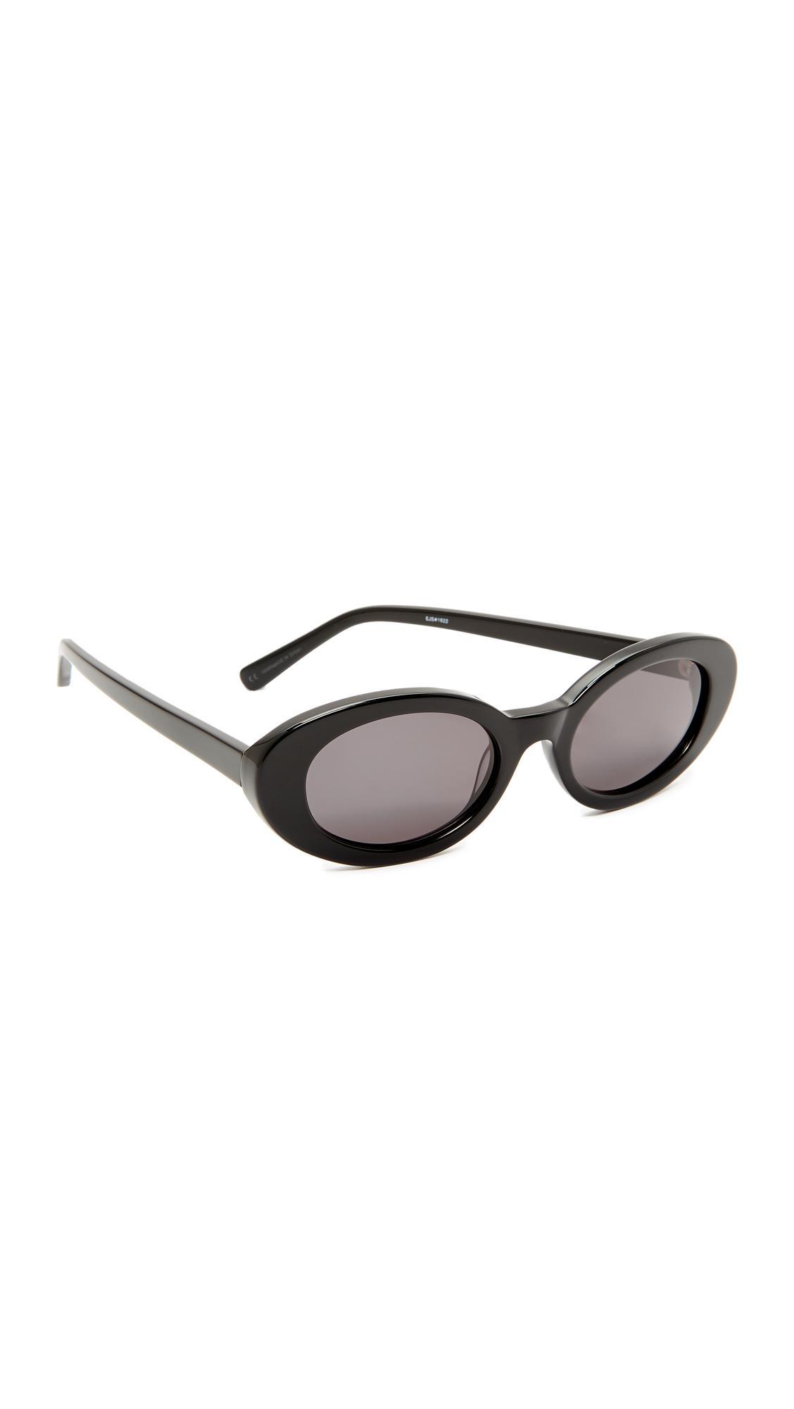 20d549ebc5 Elizabeth and James Mckinley Sunglasses in Black - Lyst