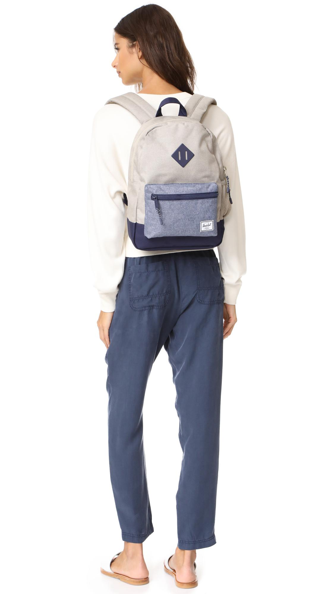 Lyst Herschel Supply Co Heritage Youth Backpack In Blue