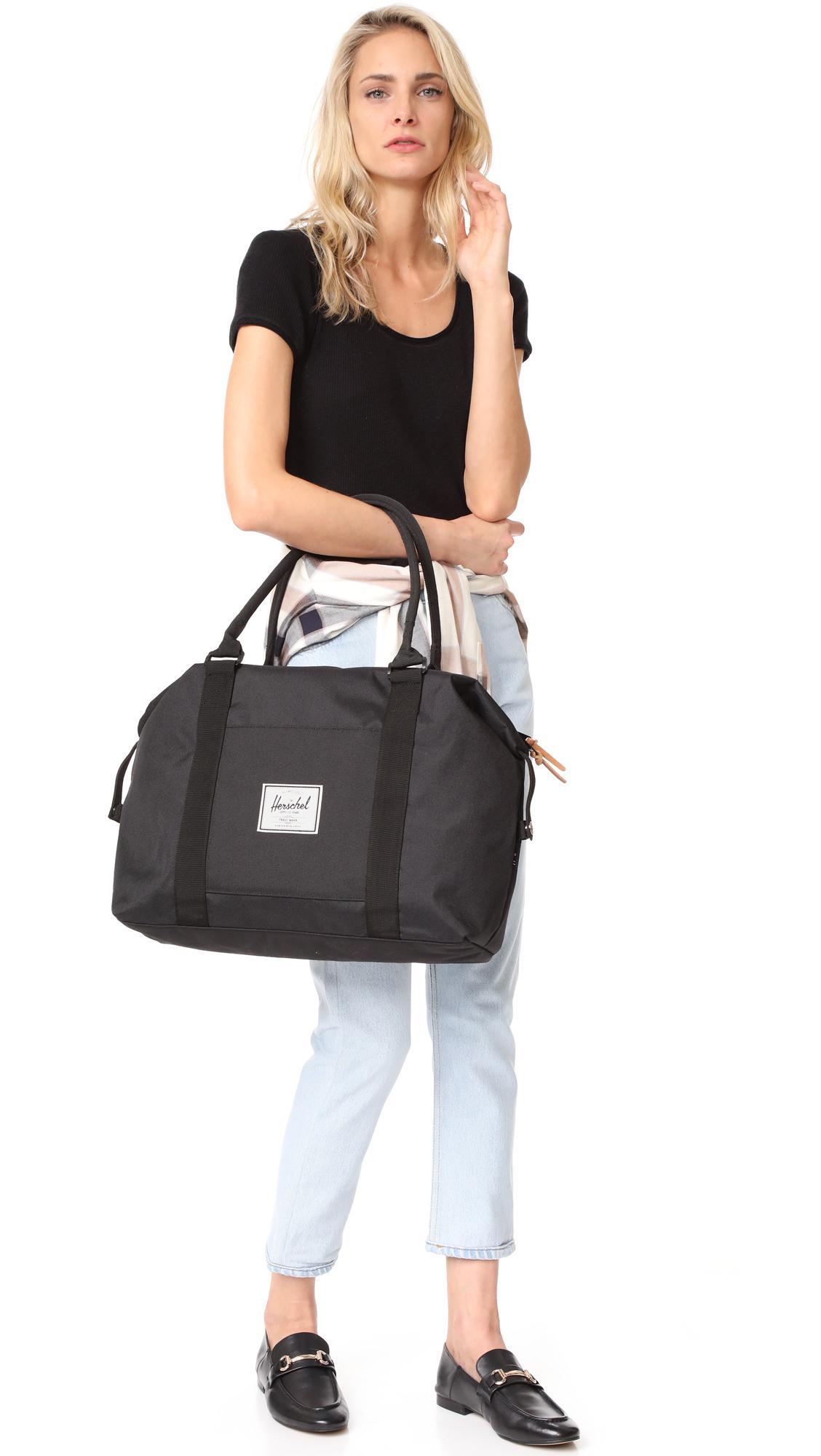 4c0b4e889b Lyst - Herschel Supply Co. Strand Duffel Bag in Black