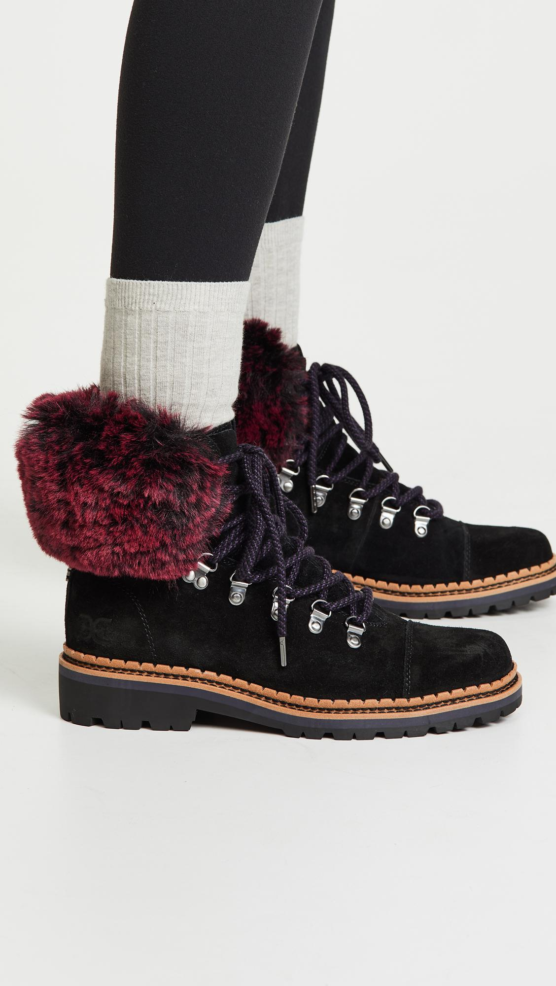 c4a72b4cb Sam Edelman - Black Bowen Fashion Boot - Lyst. View fullscreen