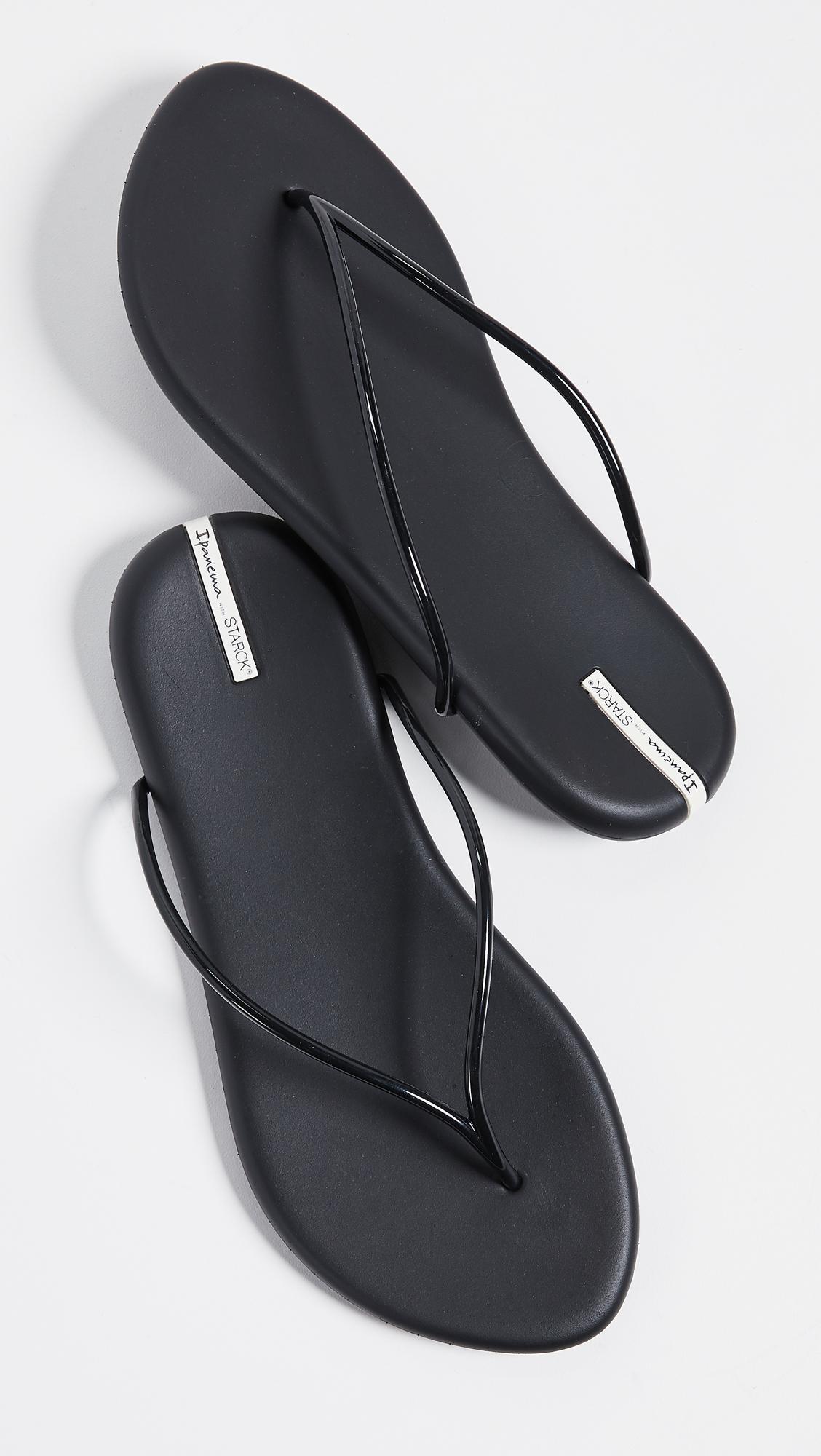 85a0896d20ce Ipanema Philippe Starck Thing M Ii Flip Flops in Black - Lyst