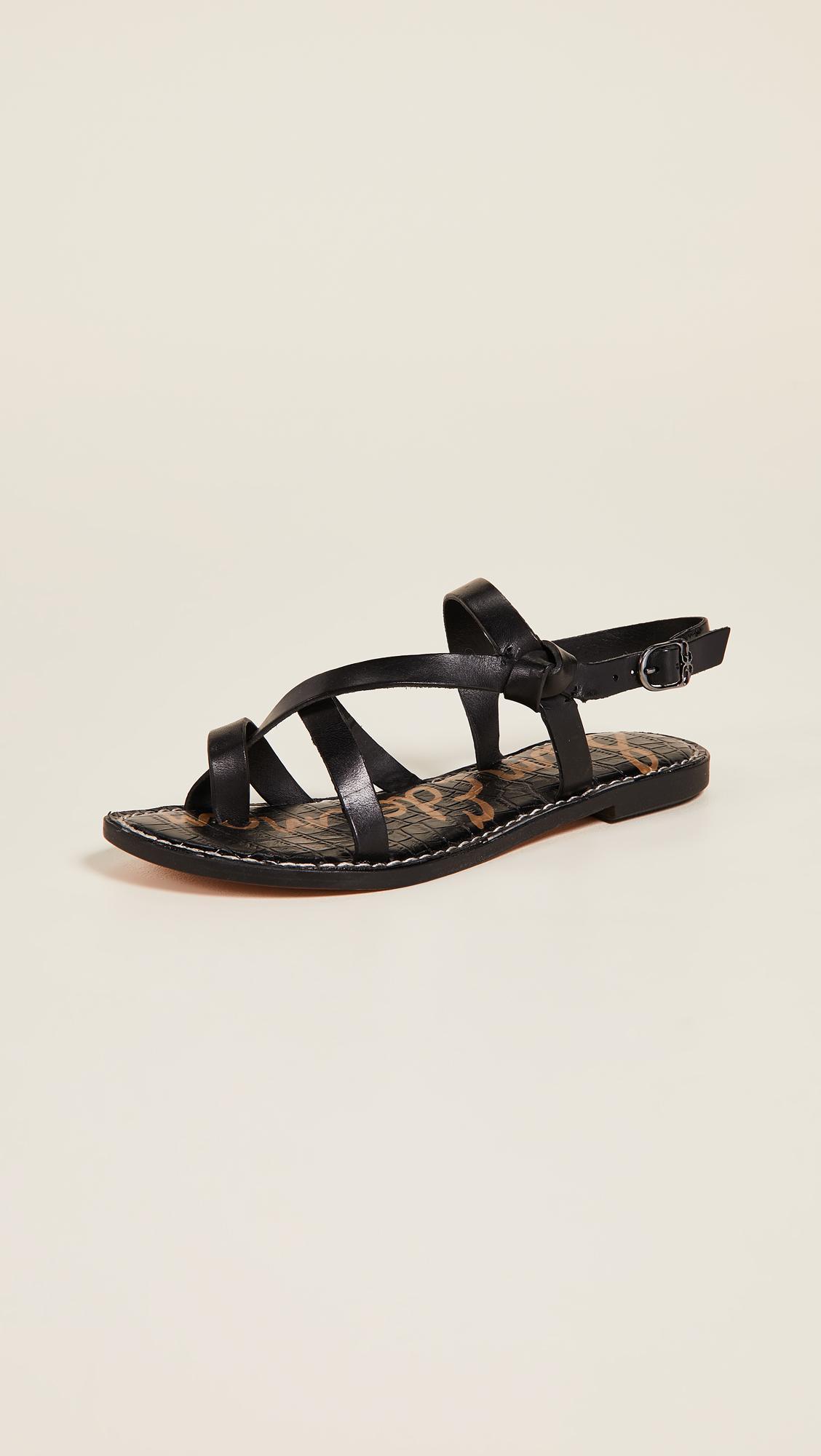 9717903676ec Lyst - Sam Edelman Gladis Sandals in Black