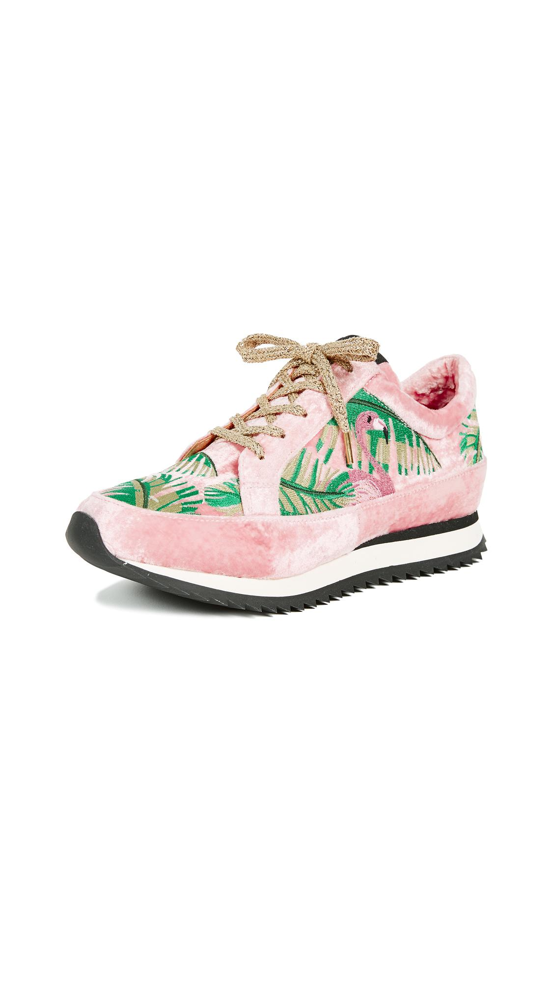 Charlotte Olympia Work It Sneakers w/ Tags pre order online shipping discount sale cheap fast delivery clearance clearance buy cheap outlet locations PykDx7005M