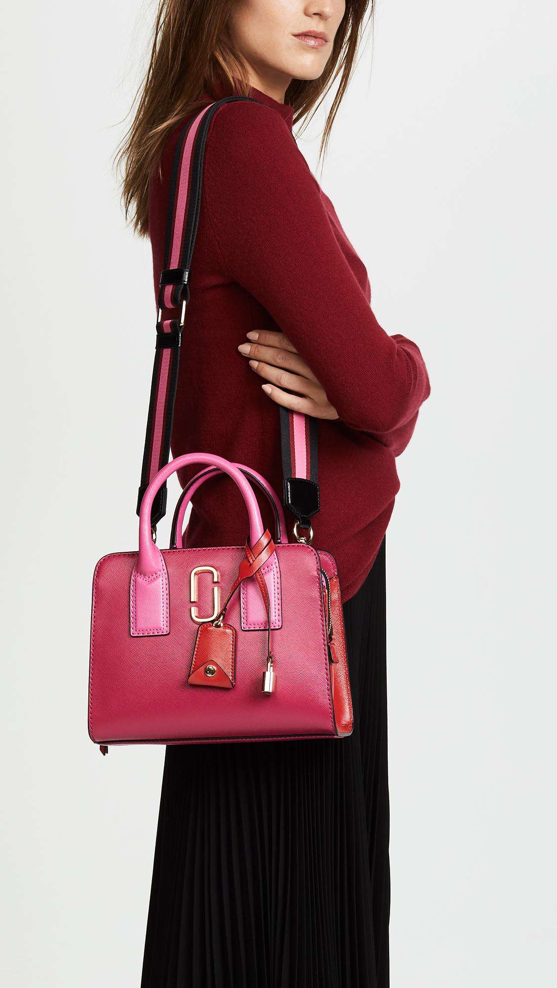 Little Big Shot bag - Pink & Purple Marc Jacobs Best Seller Cheap Sale Eastbay Clearance For Sale For Cheap Price 4uPM5