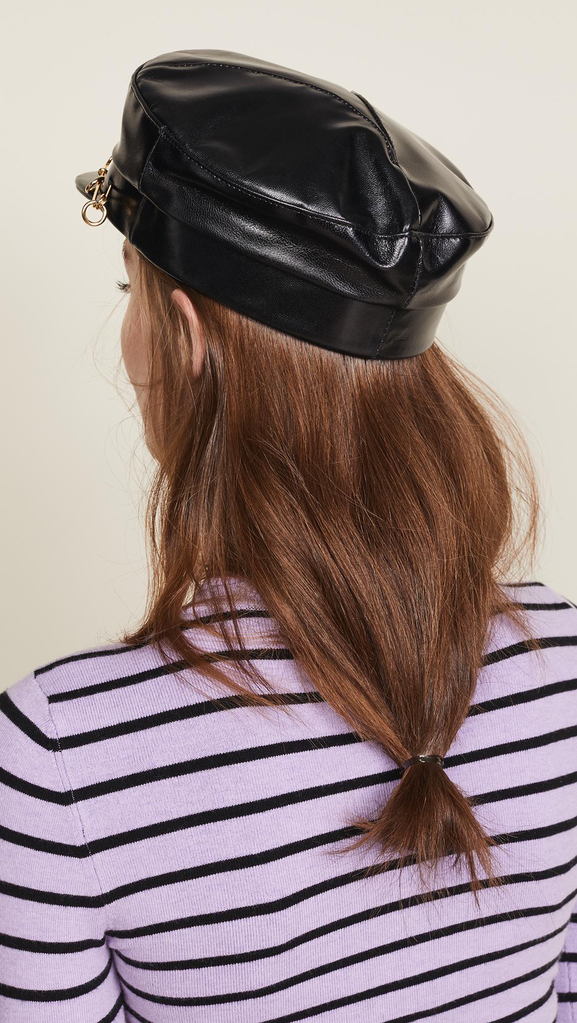 Gigi Burris Millinery - Black Georgie Hat - Lyst. View fullscreen 88c903330004