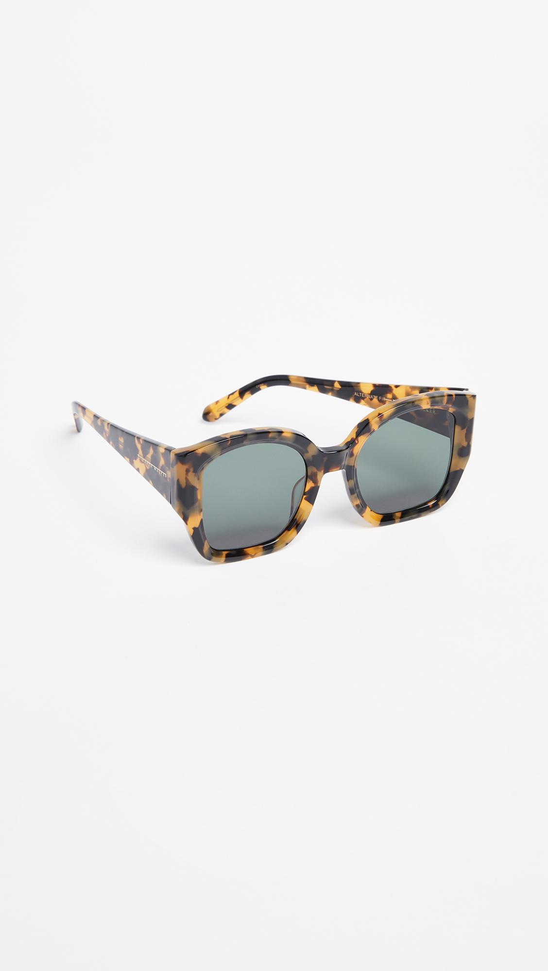 5a81215a4169 Karen Walker. Women's Alternative Fit Check Mate Sunglasses