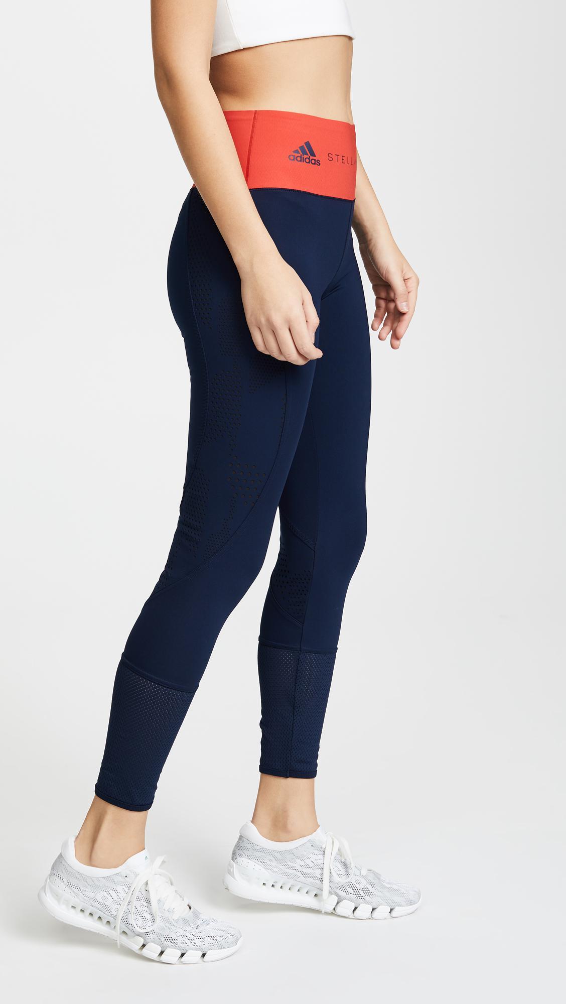 timeless design 0192b 189cd Lyst - adidas By Stella McCartney Train Ultimate Leggings in Blue