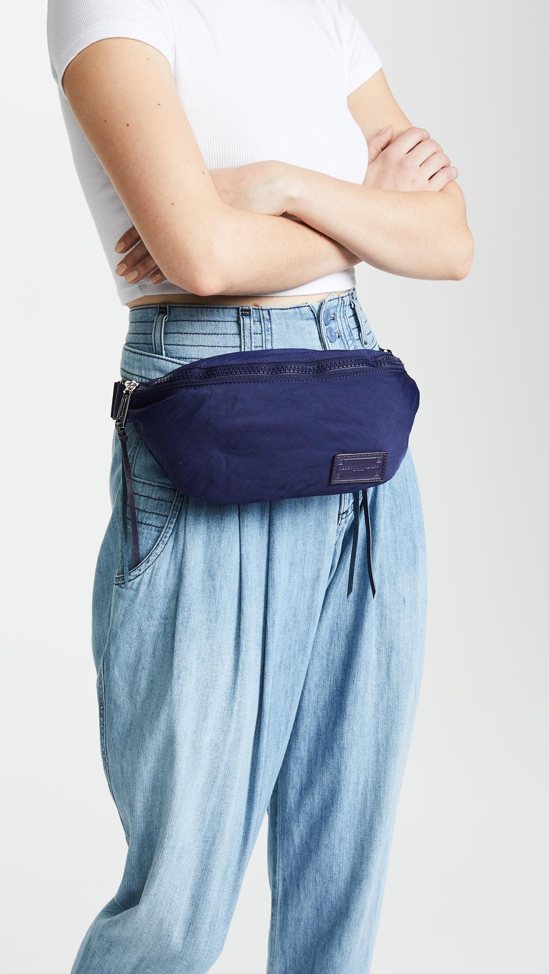 Rebecca Minkoff Nylon Belt Bag blue的圖片搜尋結果