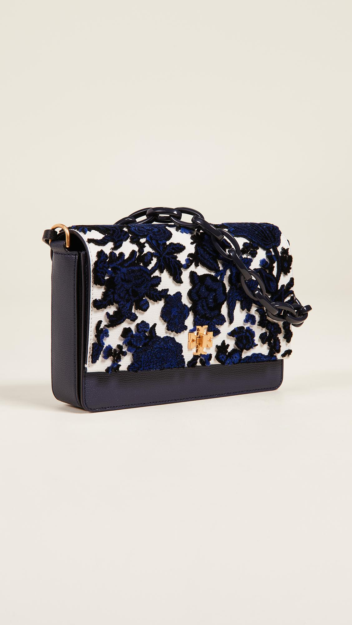 d873c5f24d5 Tory Burch Kira Fil Coupe Shoulder Bag in Blue - Save 8% - Lyst