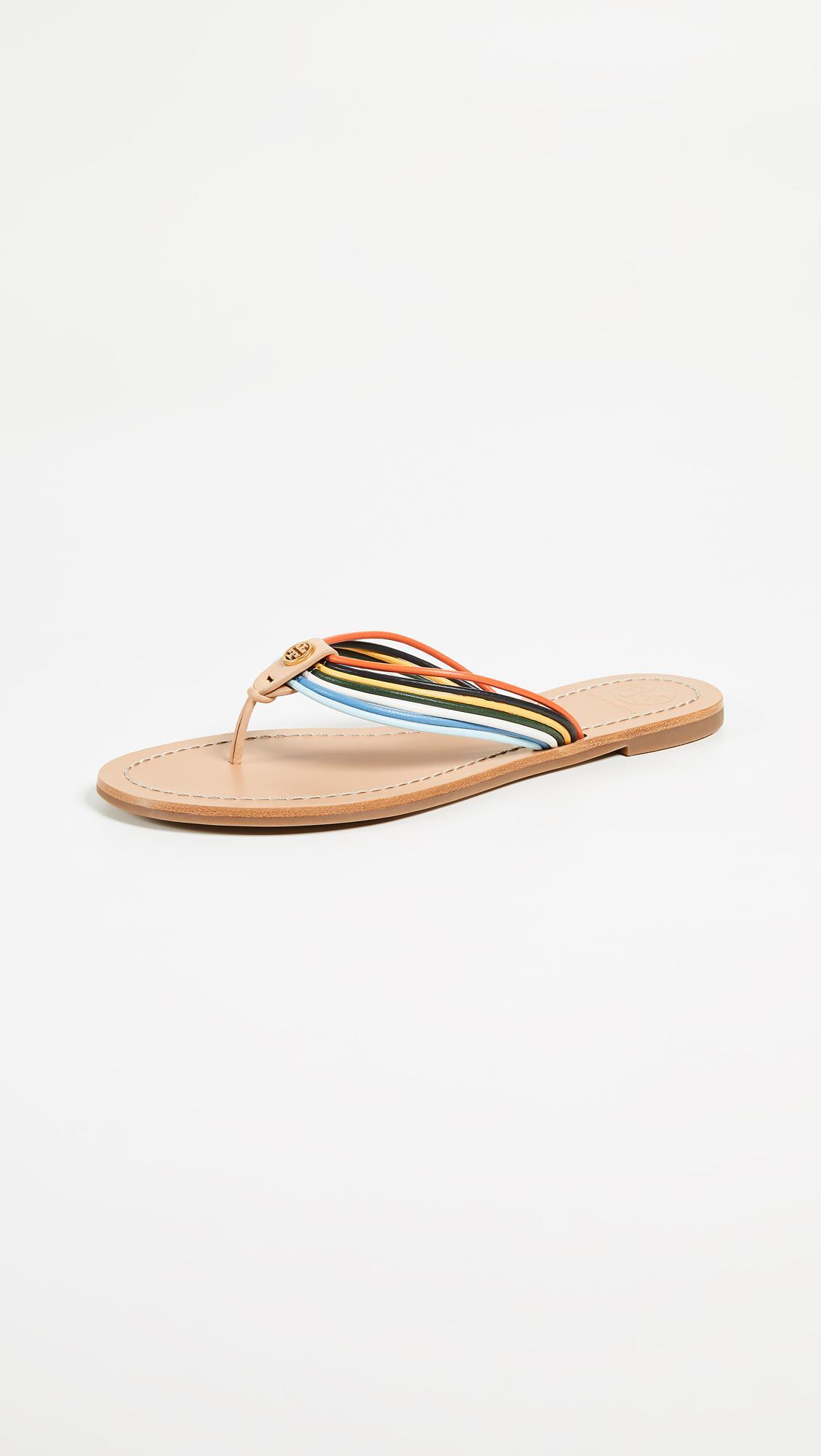 6e1c993bf189 Lyst - Tory Burch Sienna Thong Sandals