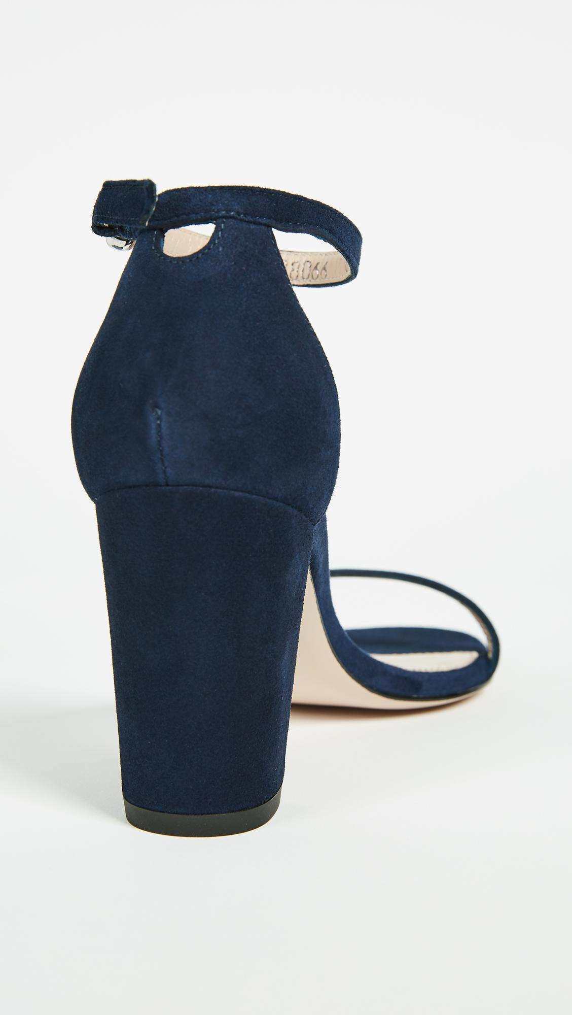 88173b1dac63 Lyst - Stuart Weitzman Nearlynude Sandals in Blue - Save 60%