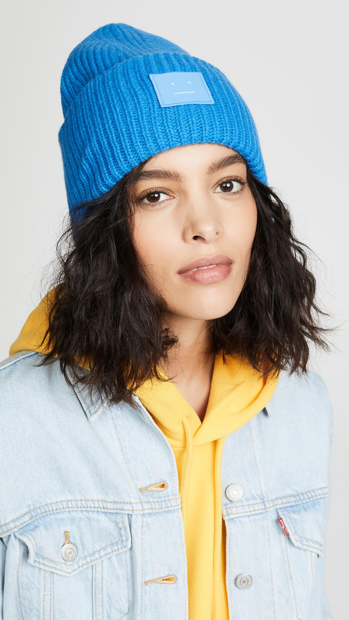 2359530bc46 Acne Studios Pansy N Face Hat in Blue - Lyst