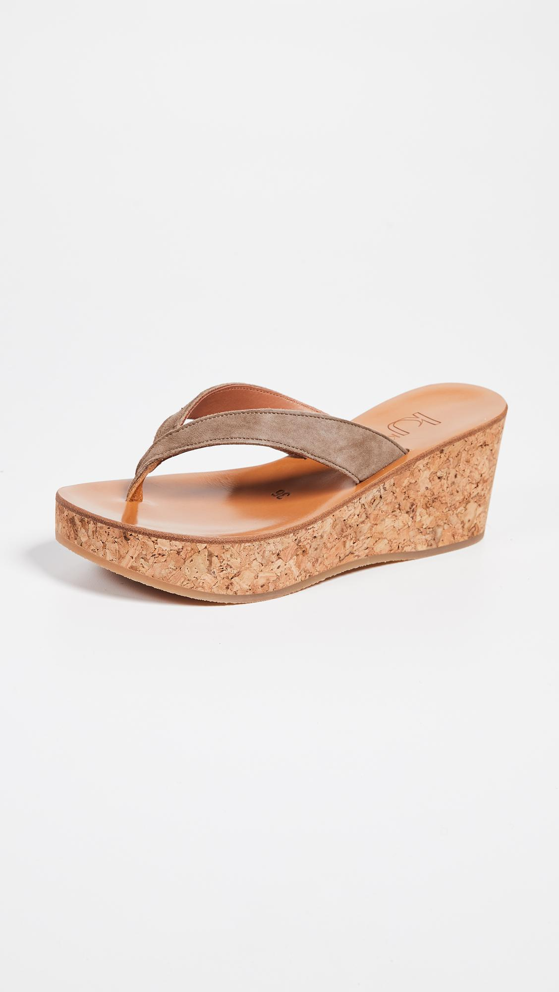 ccf7b41c5fd8 K. Jacques Diorite Thong Wedges - Save 3% - Lyst