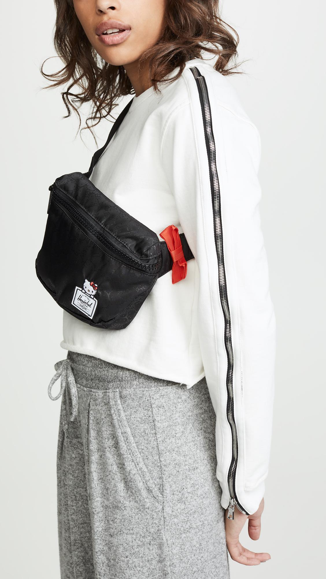 50ab069091f5 Lyst - Herschel Supply Co. Fifteen Hello Kitty® Belt Bag in Black