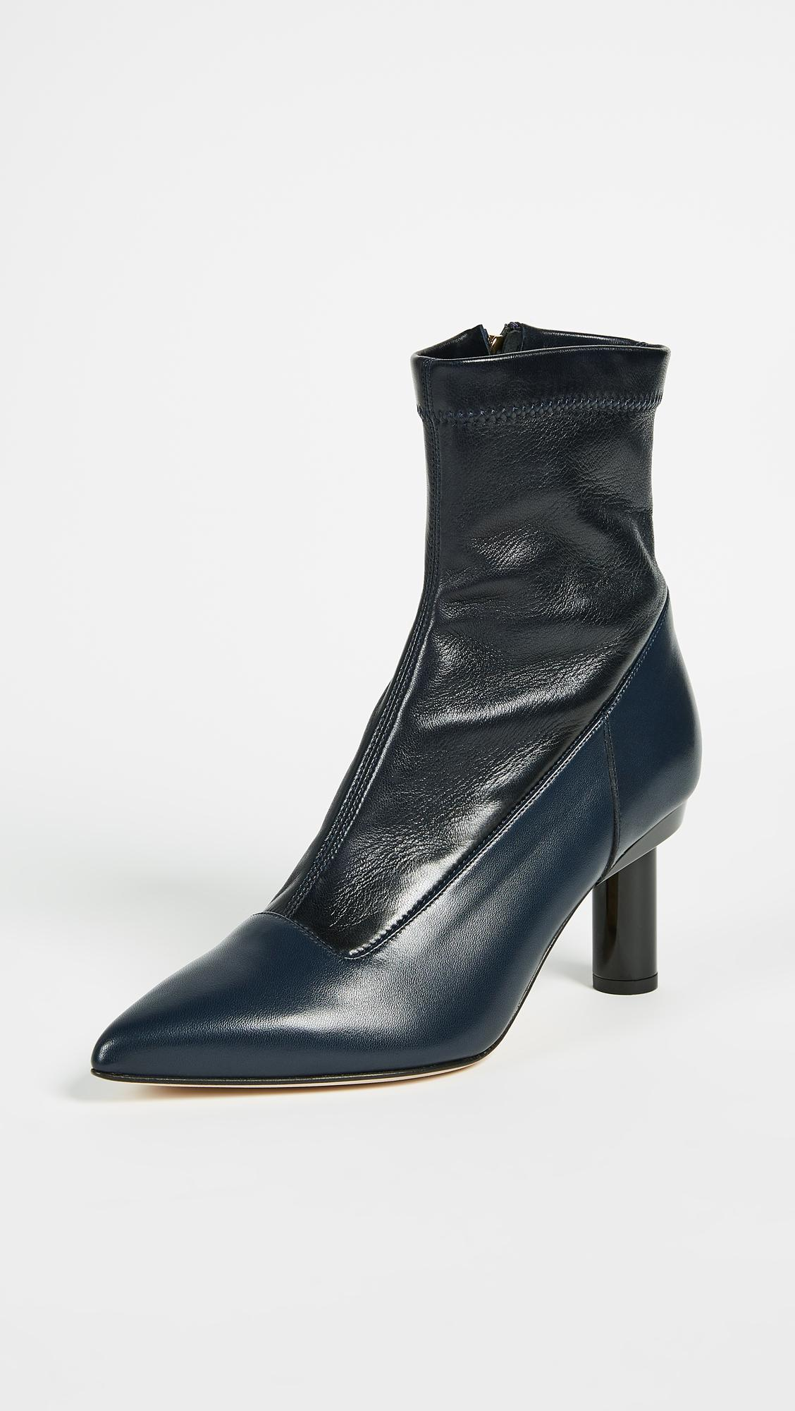 Tibi Round-Toe Ankle Boots free shipping supply XmsJHx