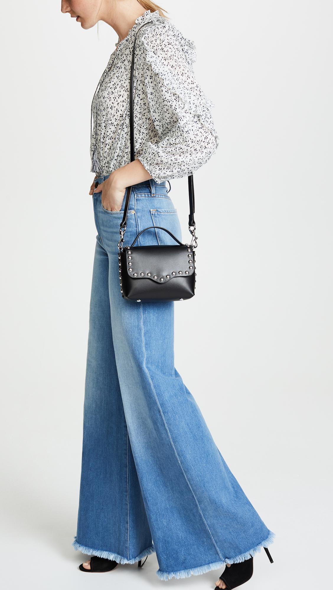 Rebecca Minkoff Blythe Medium Flap Crossbody Bag yLgsUO