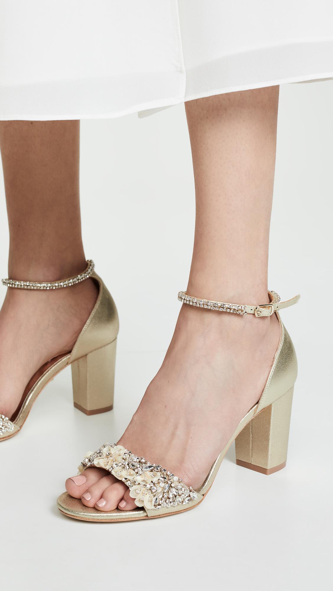 634c4404fd8 Badgley Mischka - Multicolor Finesse Ii Block Heel Sandals - Lyst. View  fullscreen