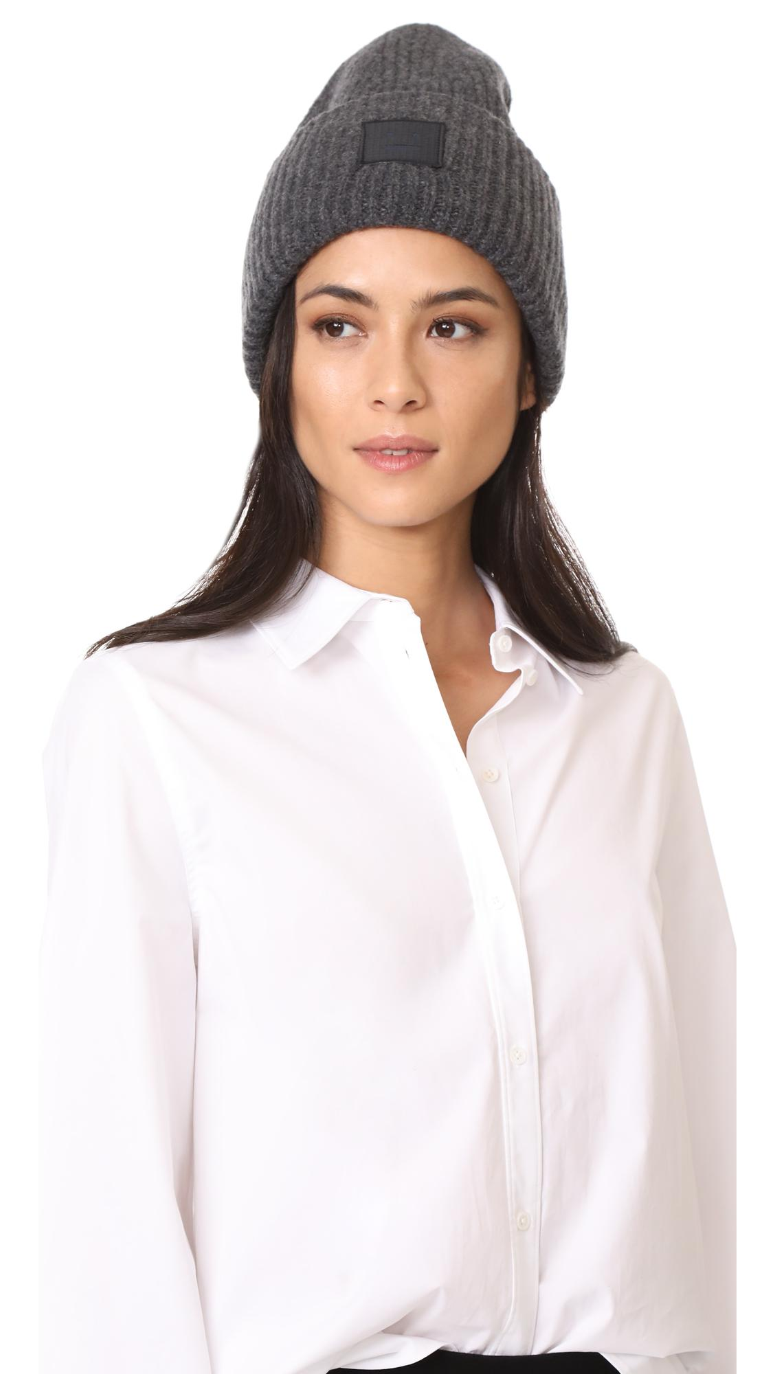23a8b687bf6 Acne Studios Pansy L Face Hat in Gray - Lyst