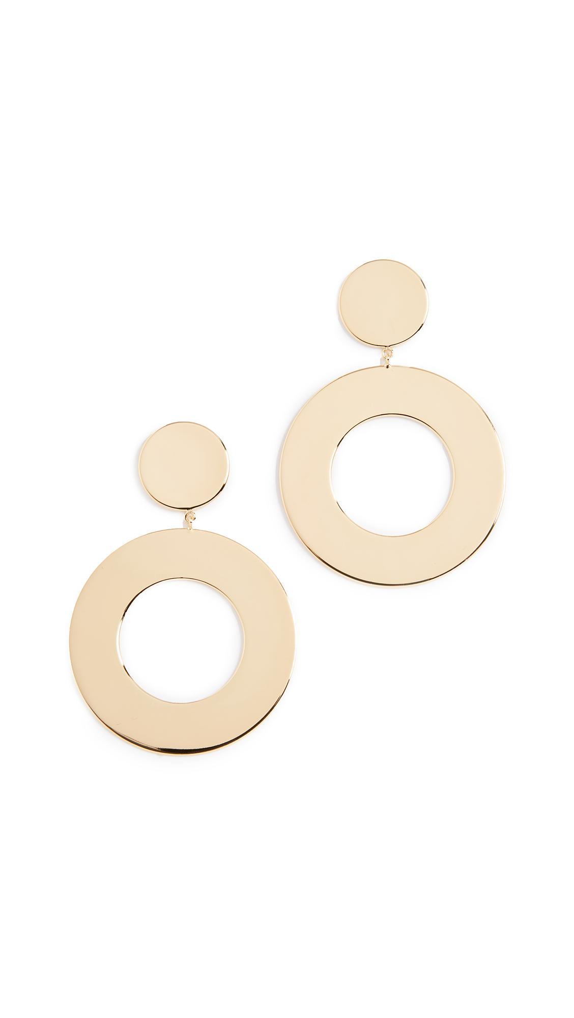 Gorjana Jagger Cutout Circle-Drop Earrings v3Dnf