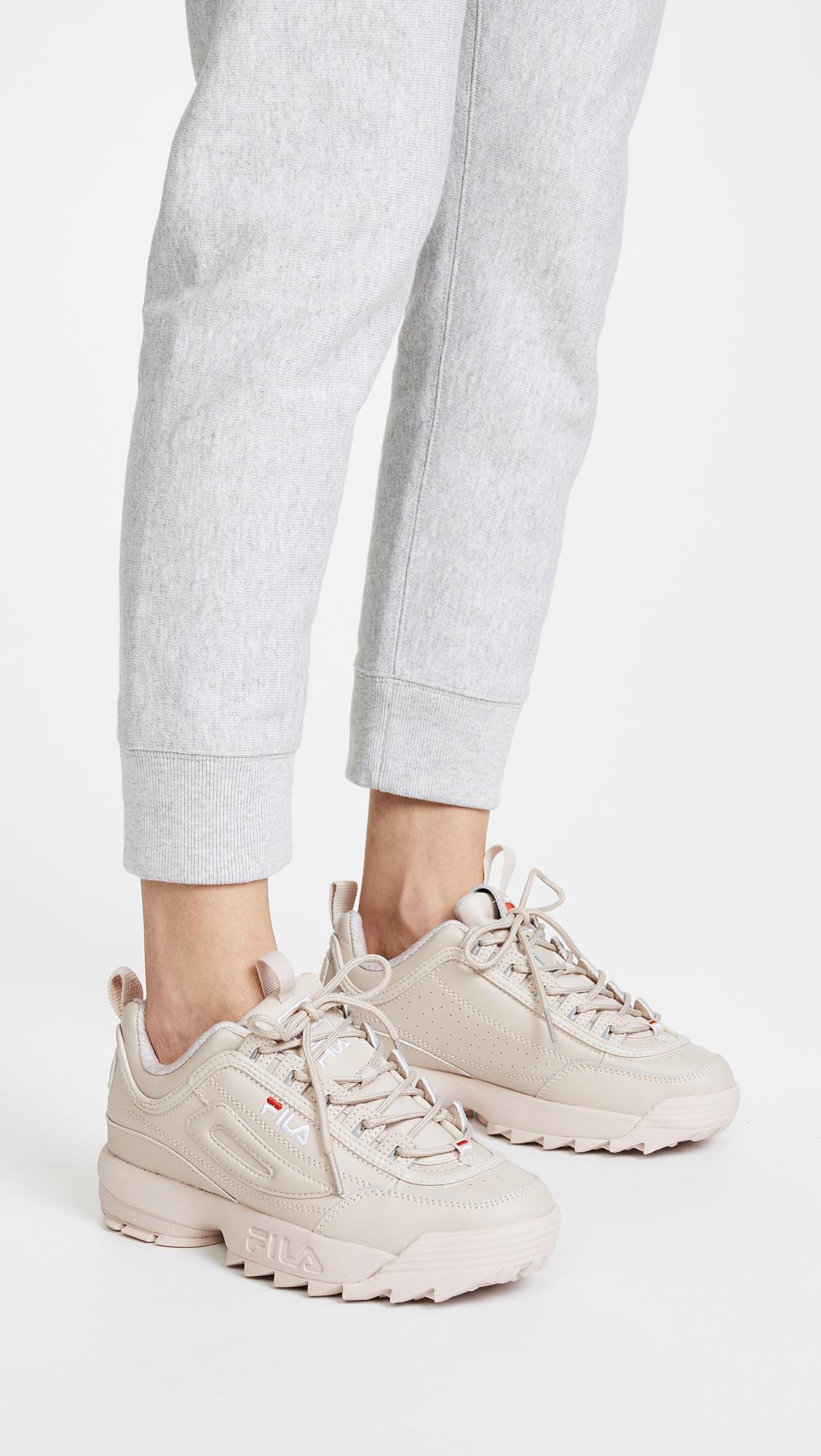 d619a2c2d9 Lyst - Fila Disruptor Ii Premium Sneakers in White