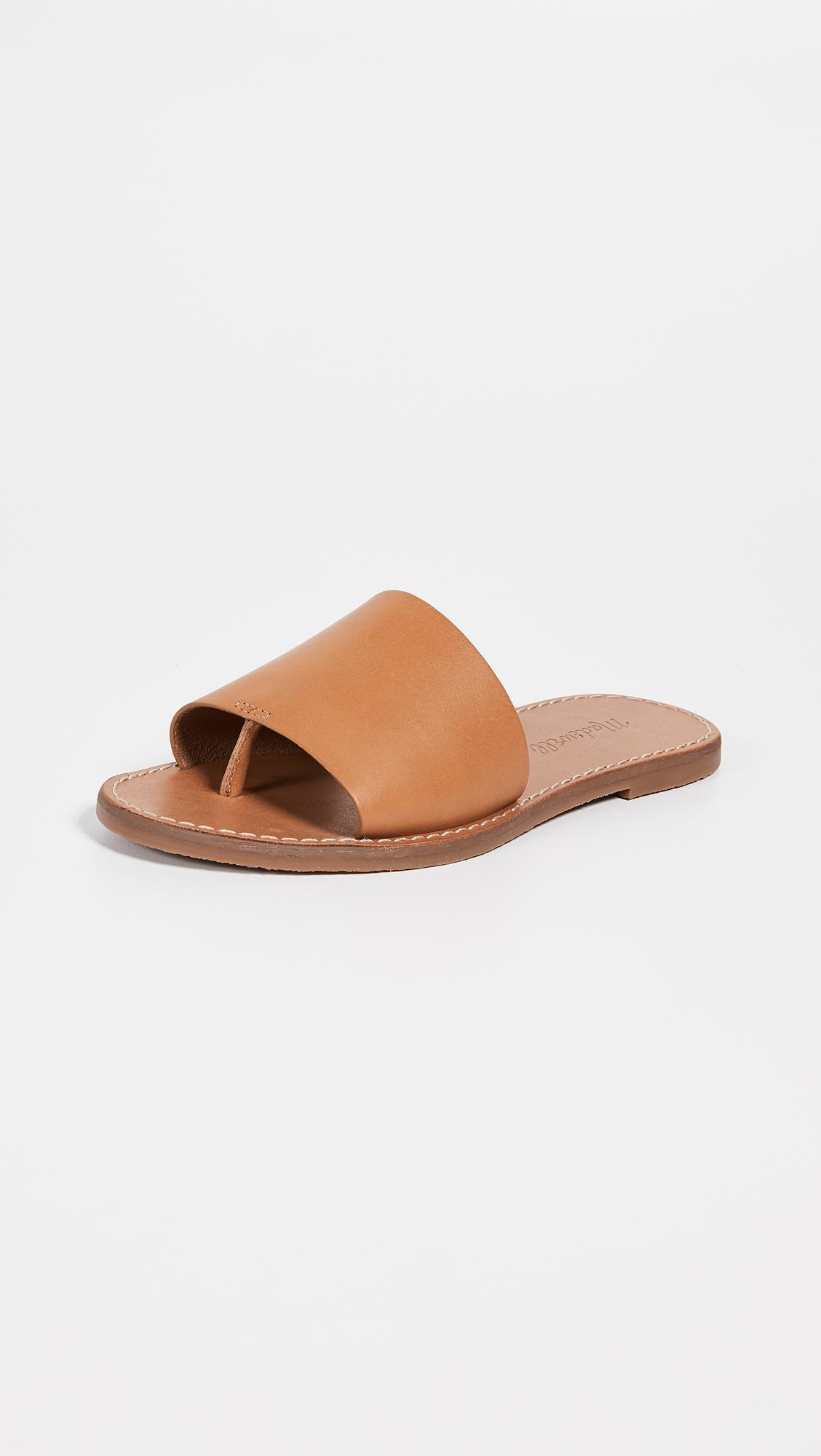 45c09b6c4e02 Madewell. Women s The Boardwalk Post Slide Sandals