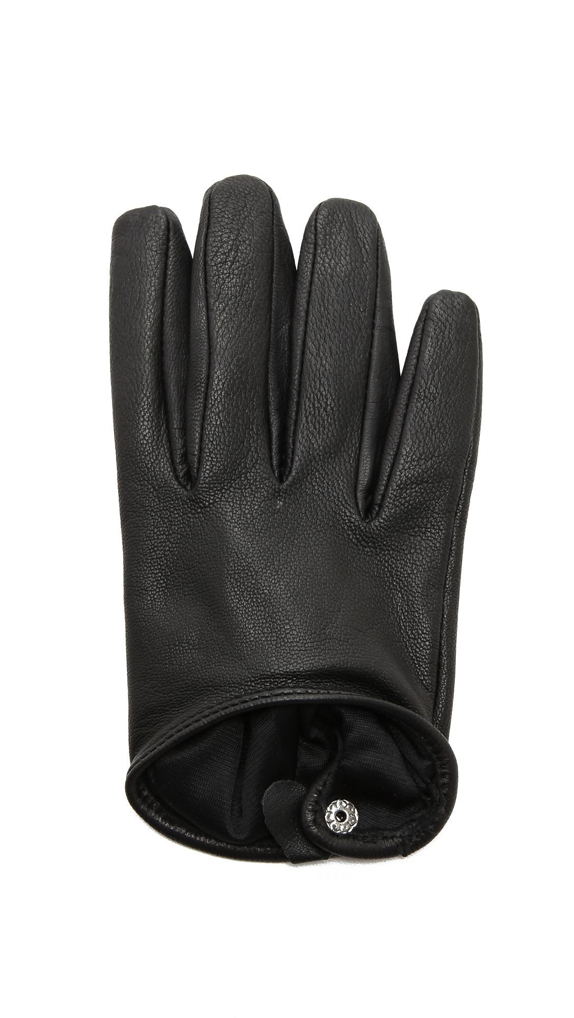 Ladies leather gloves selfridges - View Fullscreen