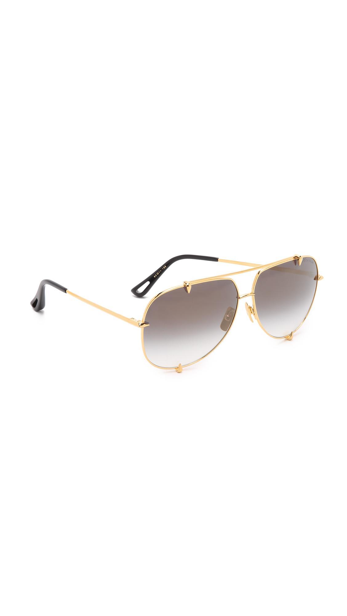9df4e2df259 Lyst - DITA Talon Sunglasses in Metallic