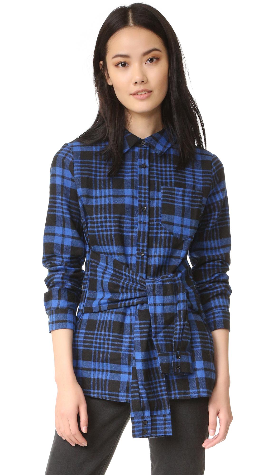 Plaid Flannel Shirts Women