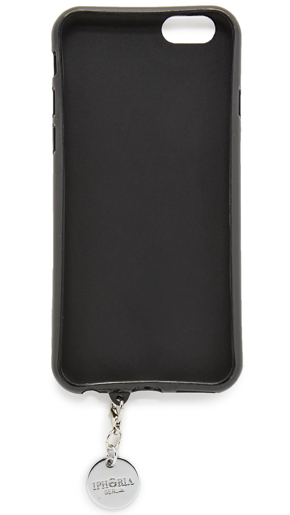 iphoria black snakeskin monster iphone 6 6s case in pink. Black Bedroom Furniture Sets. Home Design Ideas