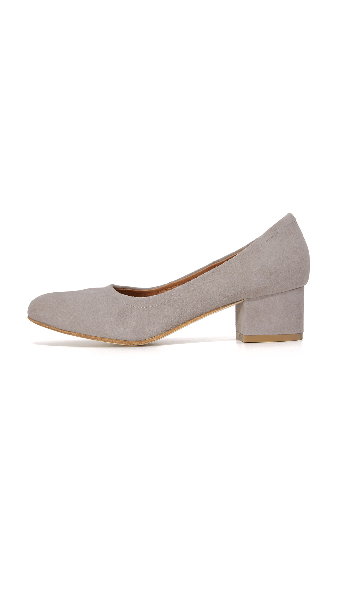 f8afadd07f3 Lyst - Jeffrey Campbell Bitsie Pumps in Gray