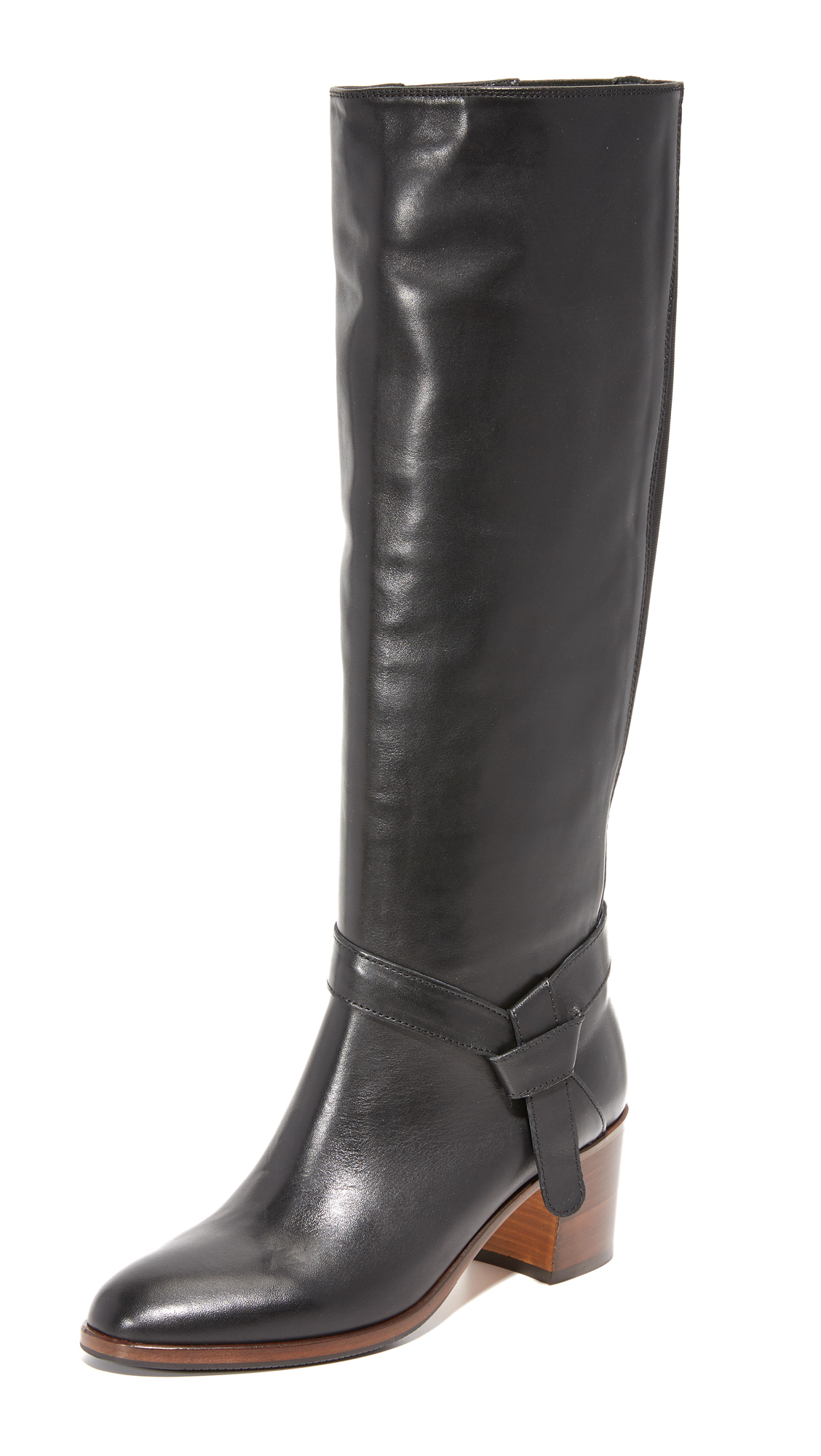 lyst kate spade new york mabelle tall boots in black. Black Bedroom Furniture Sets. Home Design Ideas