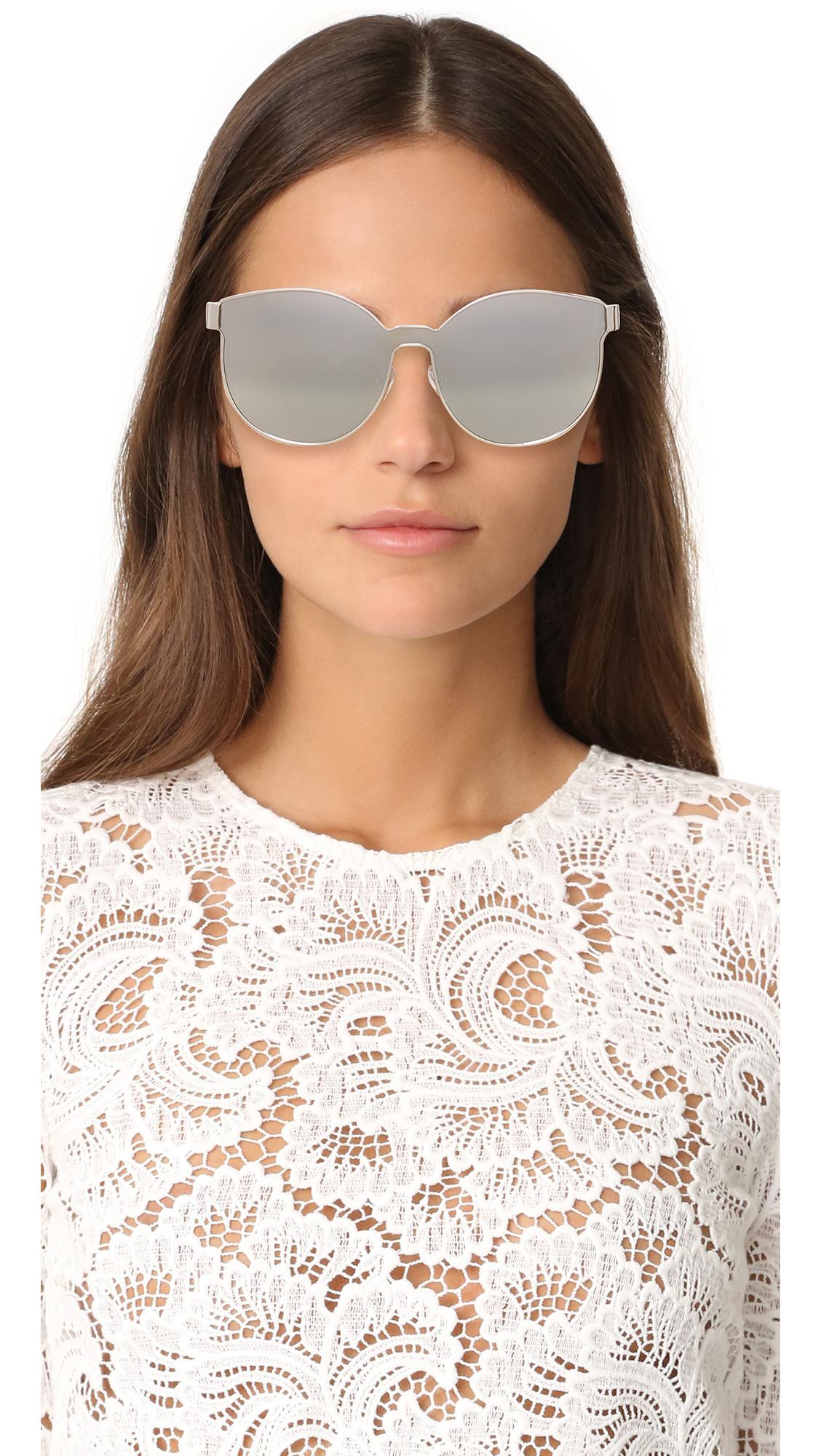 913107928c18 Lyst - Karen Walker Star Sailor Sunglasses in Metallic