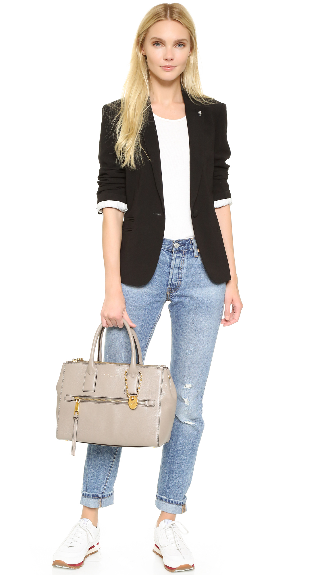 3ea1cf653ef4 Marc Jacobs Recruit East   West Tote in Natural - Lyst