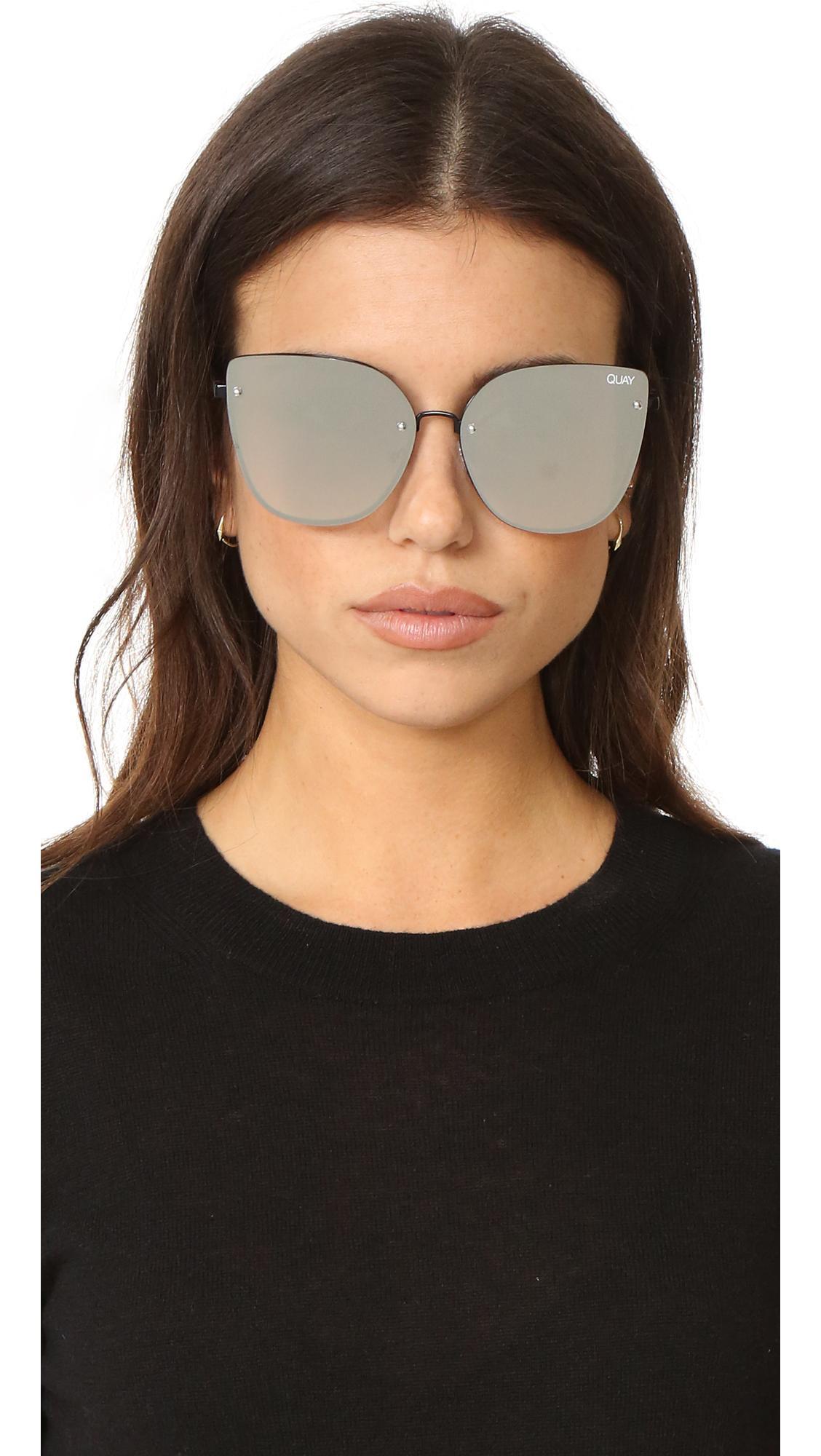 ea292b4fdef Lyst - Quay Lexi Sunglasses
