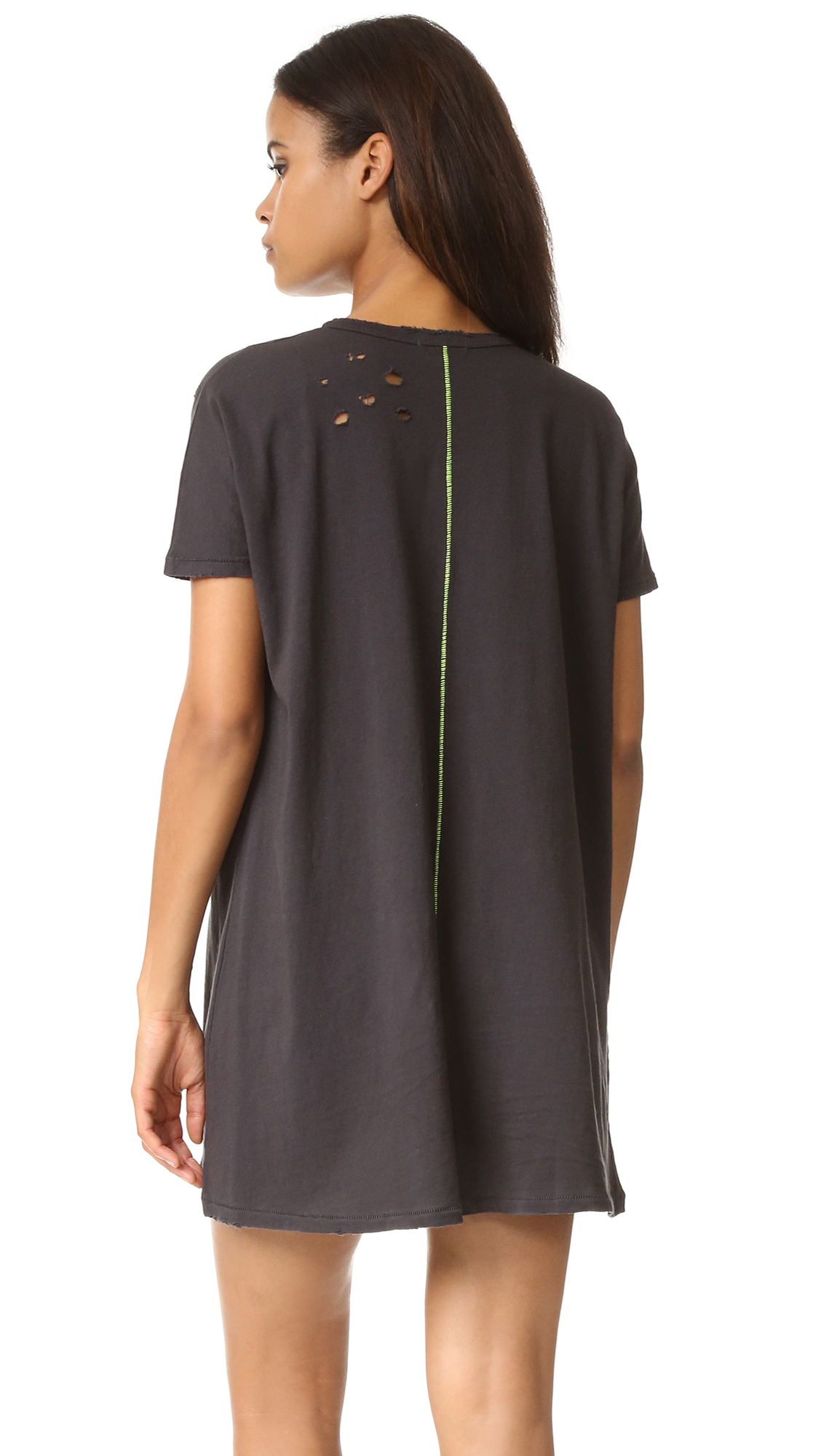 Lyst Sundry Painted Tunic Tee Dress
