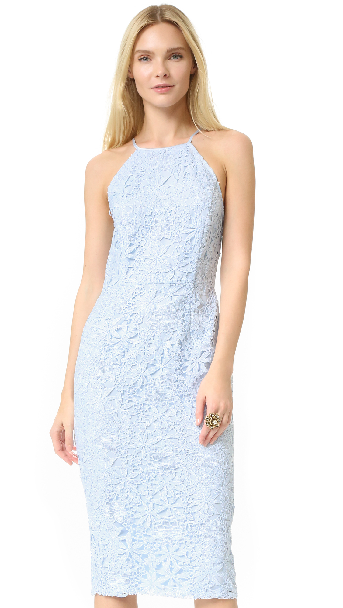 Yumi kim Save The Date Lace Dress in Blue   Lyst