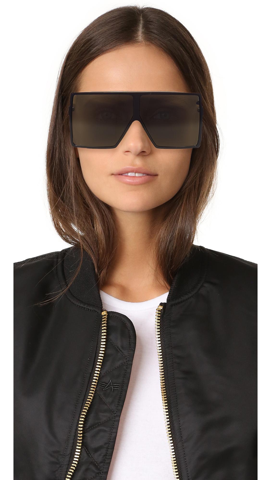 71c71007847 Lyst - Saint Laurent Sl 183 Betty Sunglasses in Gray