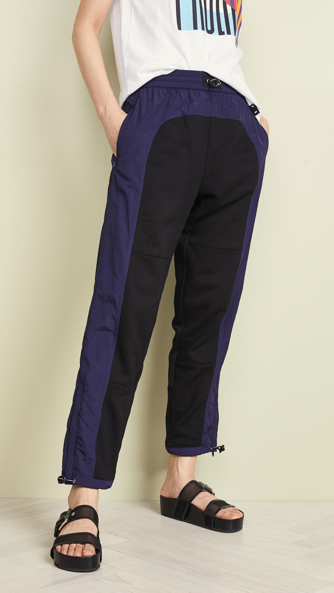 bfa1e8d32e18ab Opening Ceremony Nylon Hybrid Sweatpants in Blue - Lyst