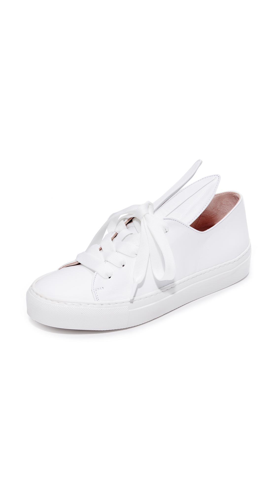 ALL EARS LOW TOP SNEAKERS WITH BUNNY EARS - FOOTWEAR - Low-tops & sneakers Minna Parikka W8VTxf4