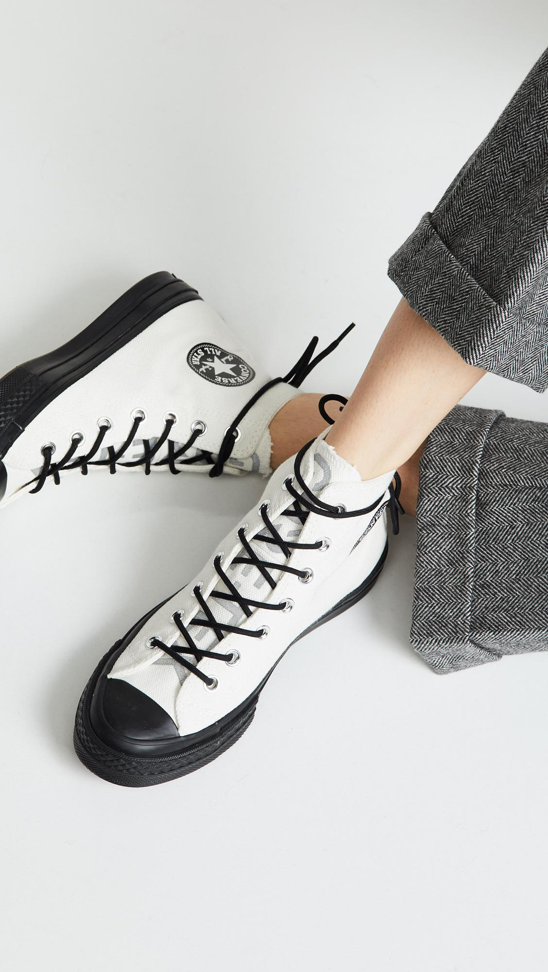 b6c07cac97 Lyst - Converse Chuck 70 Gore Tex High Top Sneakers in White