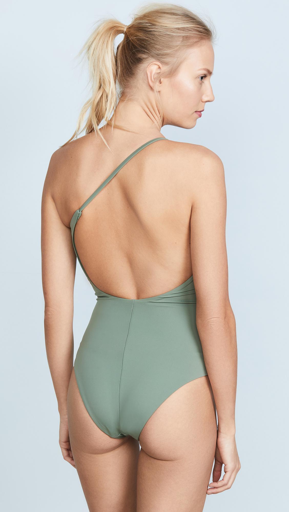 4eca2189e52e4 Lyst - Alix Seville Swimsuit in Green