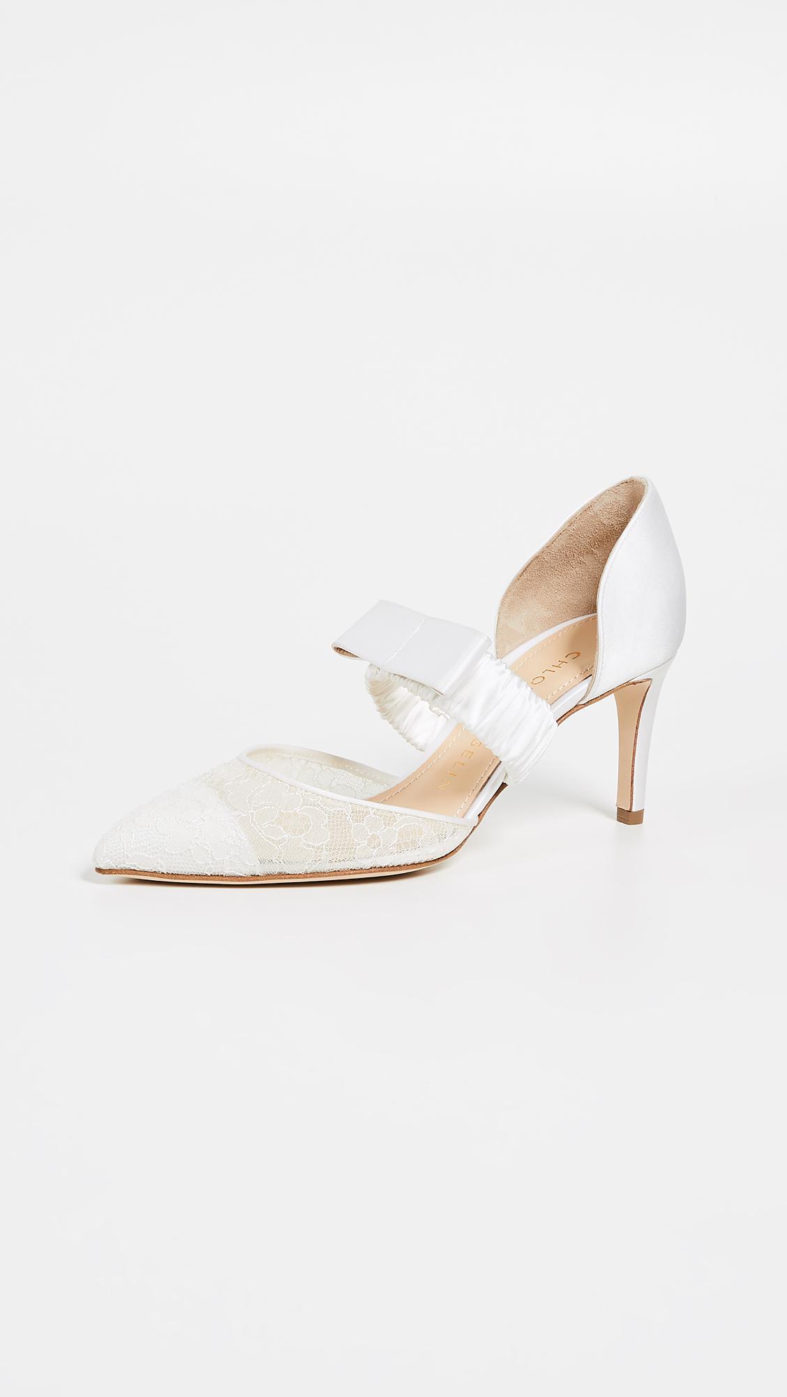 e14b0504e163a9 Chloe Gosselin. Women s White Lily 70 Lace Court Shoes. £632 From Shopbop