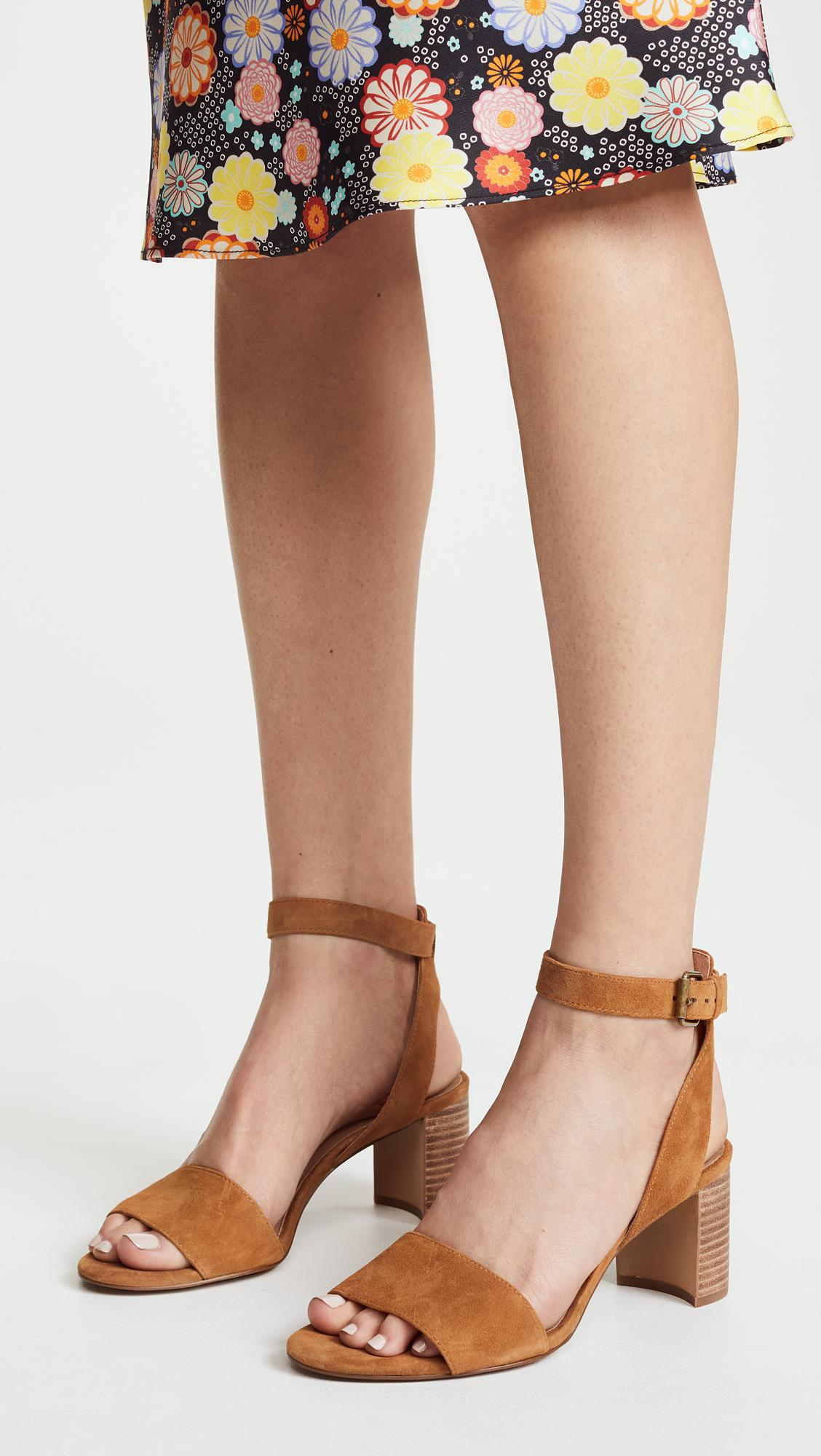 0a4f33af9b5 Madewell The Claudia Sandals in Brown - Lyst