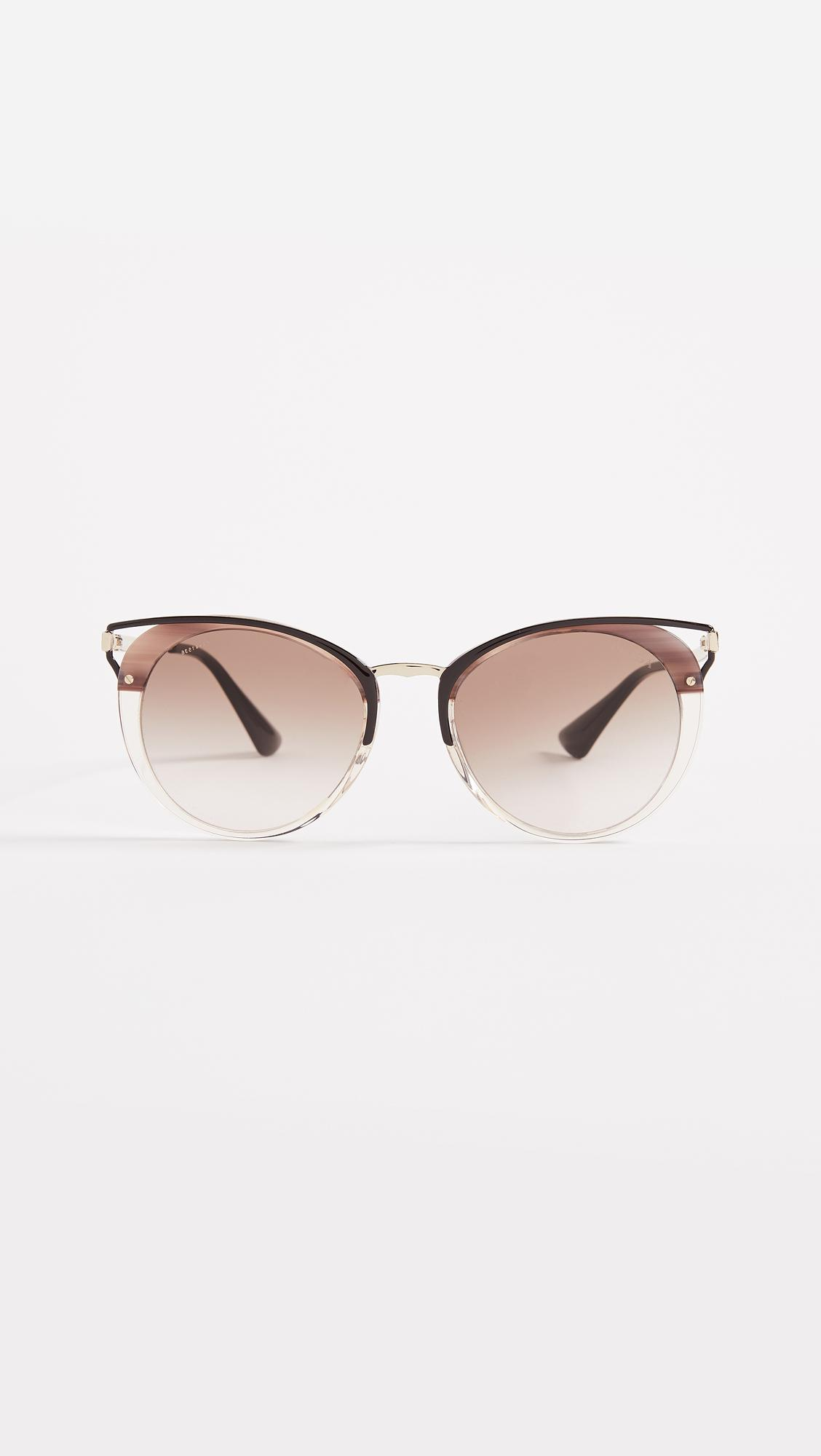 a0bdd60b18ad Gallery. Previously sold at  Shopbop · Women s Round Sunglasses ...