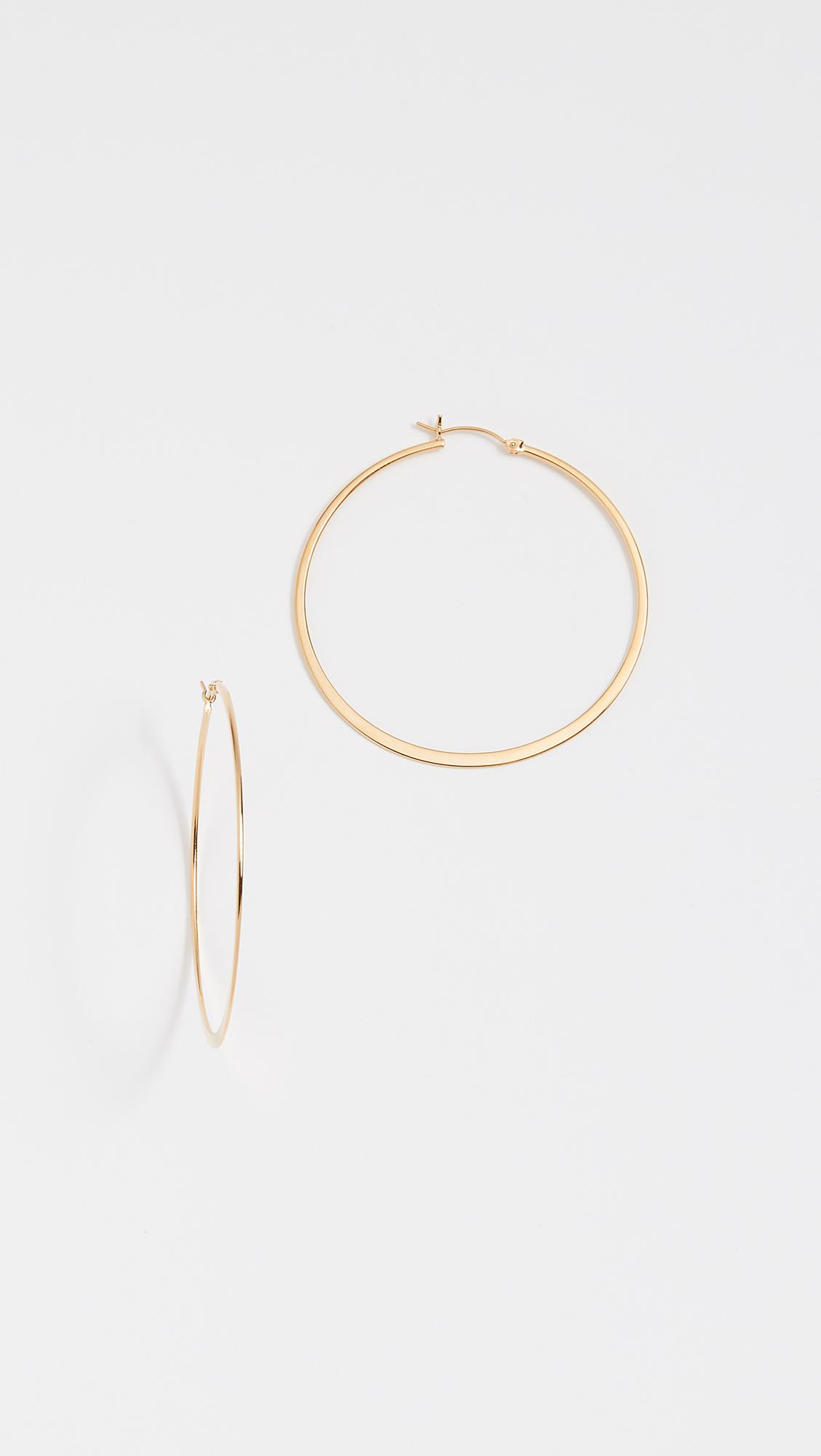 Jennifer Zeuner Golda Small Hoop Earrings FbTlC