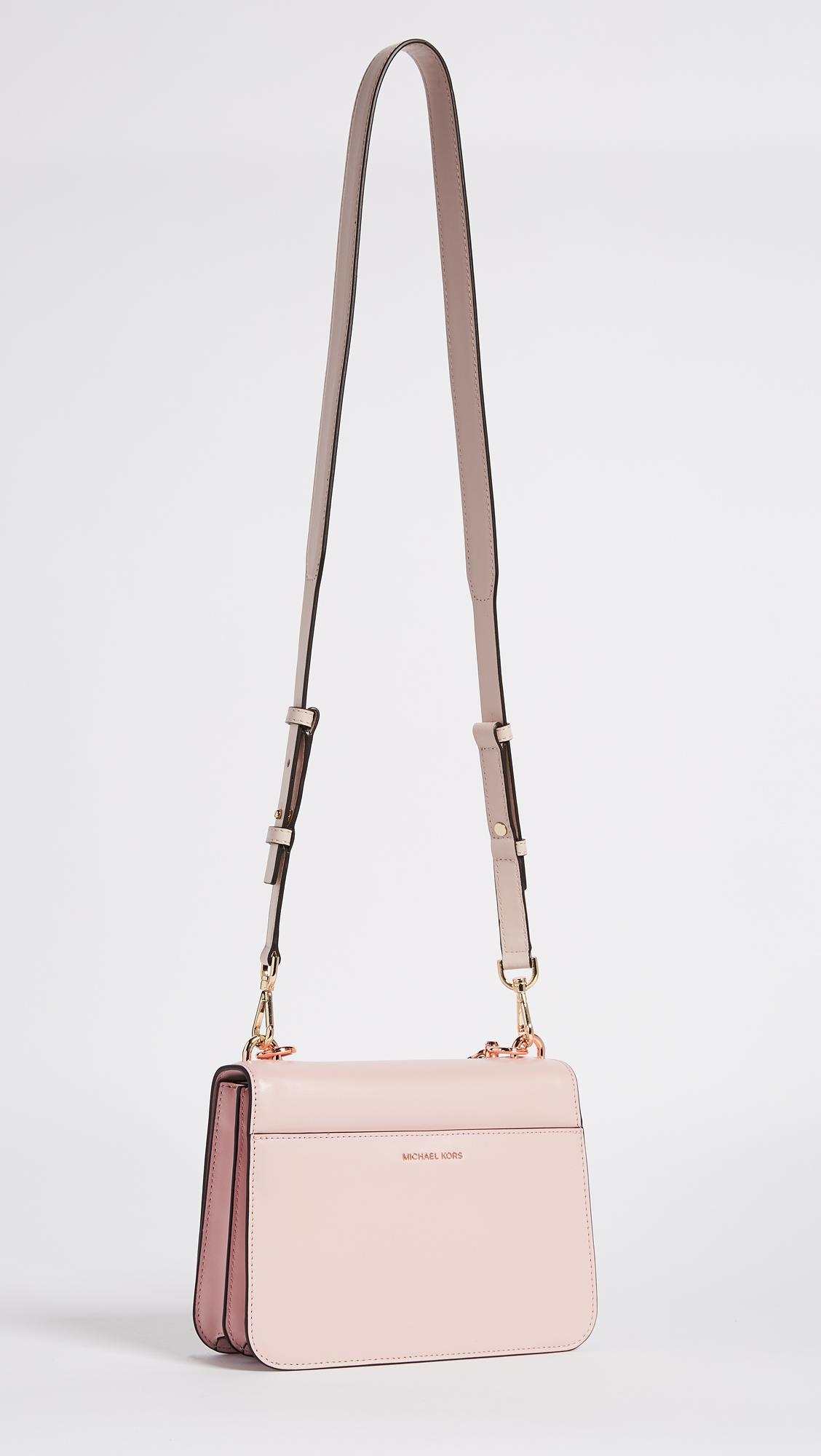 02aedc82bfb0 Lyst - MICHAEL Michael Kors Large Mott Shoulder Bag in Pink