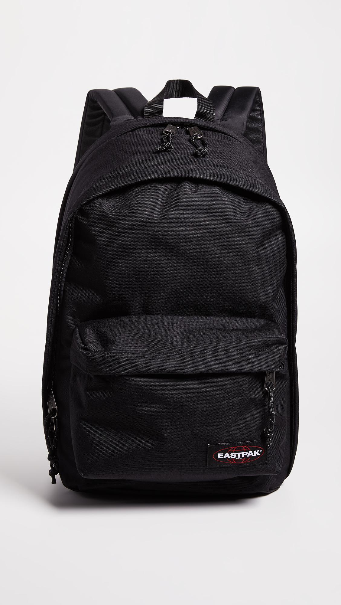 2281cef1d7885 Eastpak - Black Back To Work Backpack - Lyst. View fullscreen
